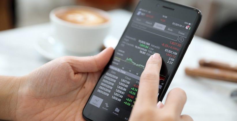 Mobiler Forexhandel mit Smartphone