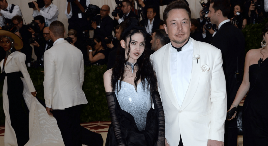 Elon Musk Baby Grimes