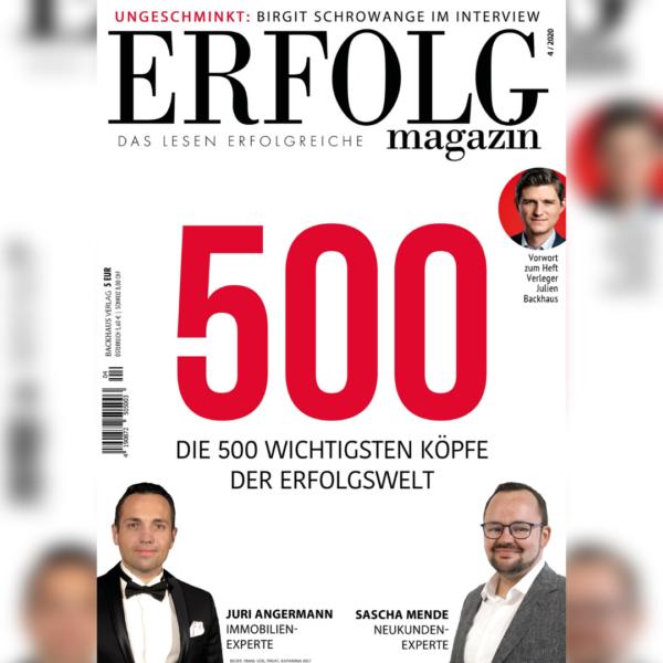 ERFOLG Magazin Ausgabe 04/2020