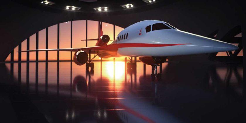 Aerion Supersonic entwickelt CO2-neutrales Überschallflugzeug