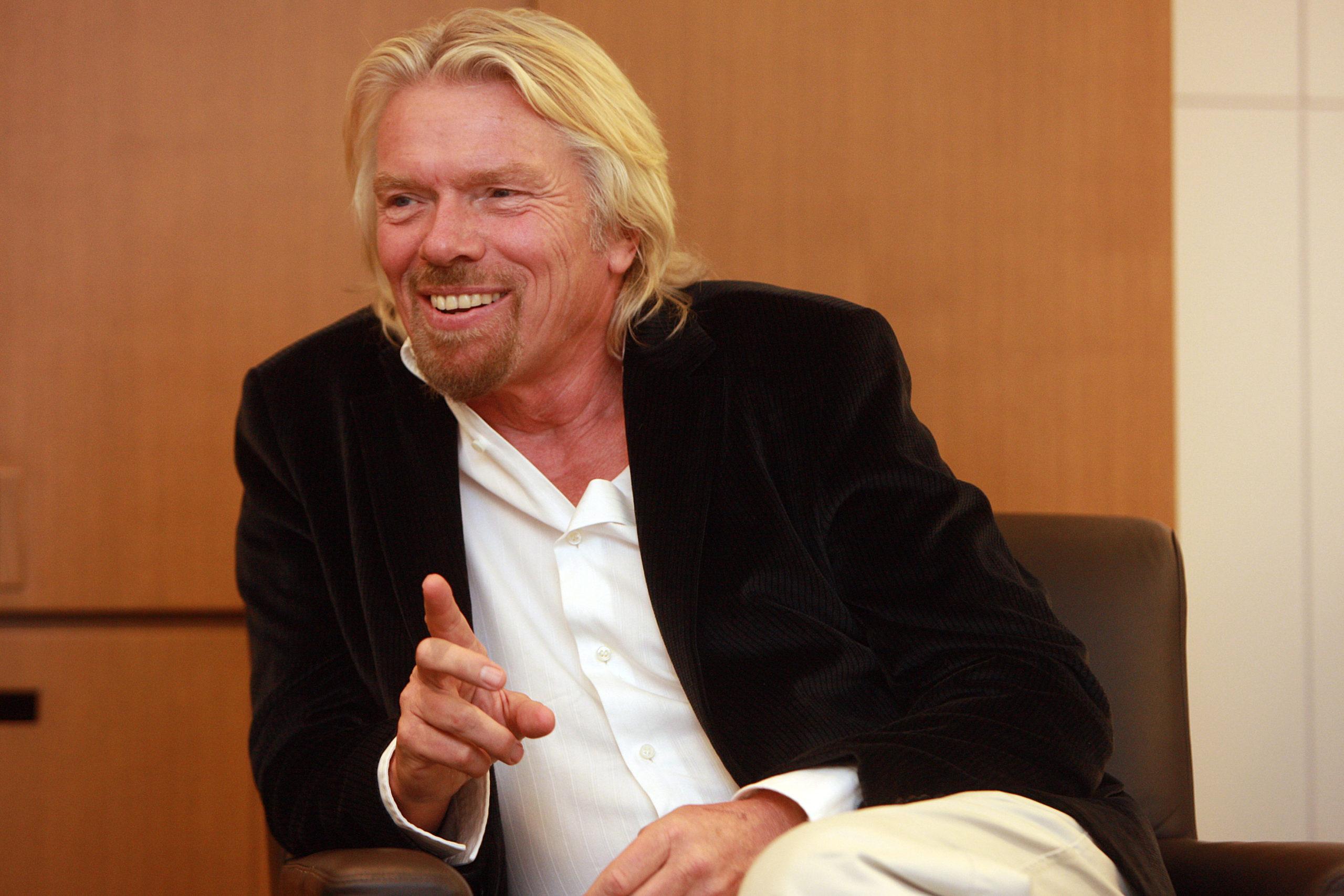 Richard Branson startet Investment-Offensive