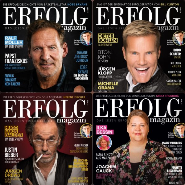 ERFOLG Magazin Jubiläumspaket